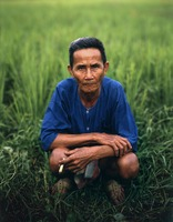 Rice Farmer, Chiang Mai, Thailand, 8x10 for Fortune Magazine