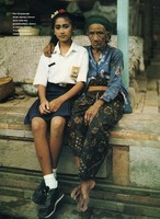 Dancer and Grandmother, Bali Portraits, (8x10 Polaroid) for Discovery Magazine