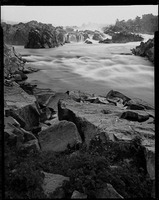 Great Falls of the Potomac, Virginia side, 4x5