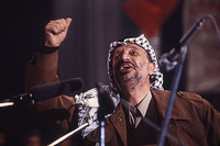 Yasser Arafat For Time Magazine